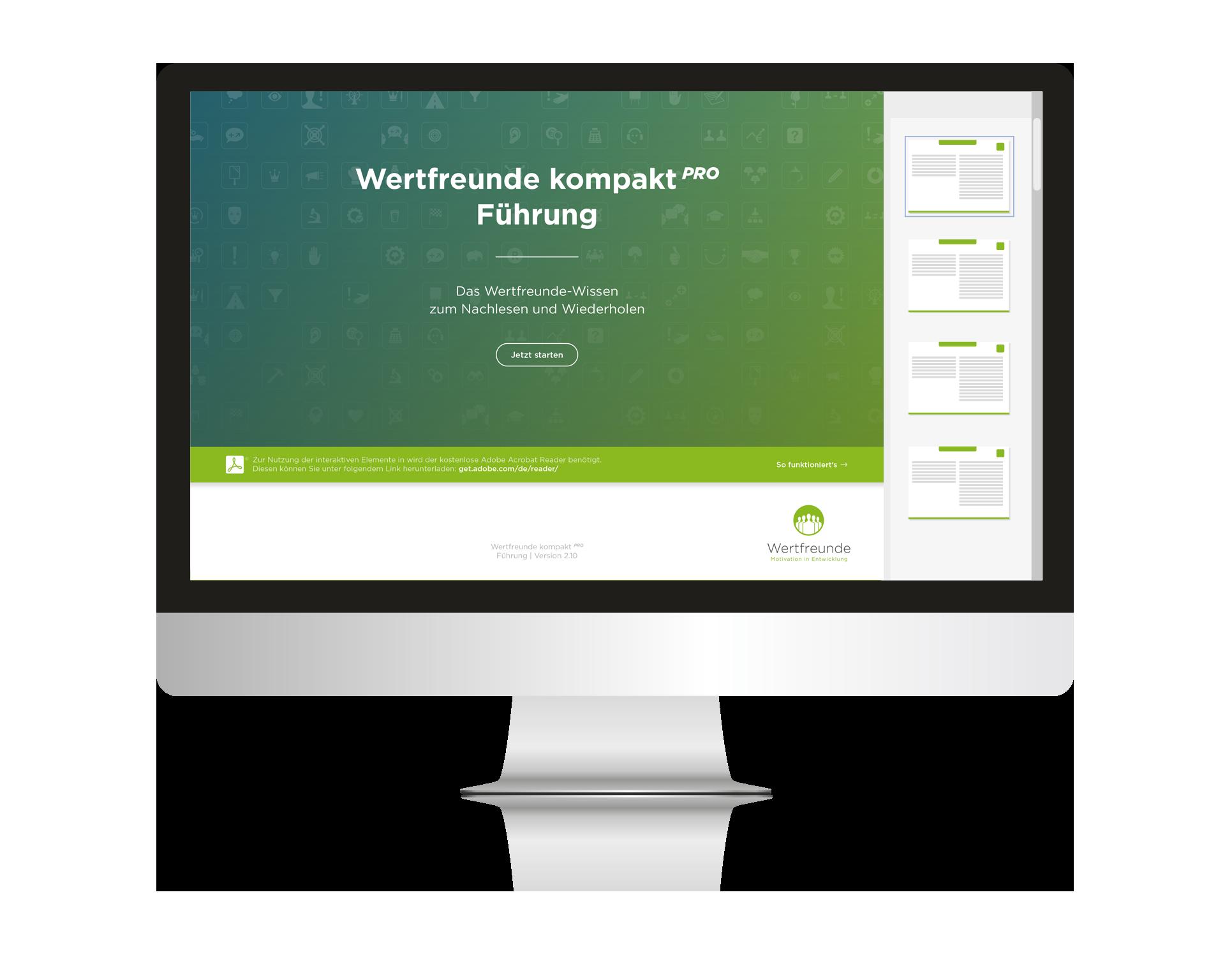 Wertfreunde kompakt Pro