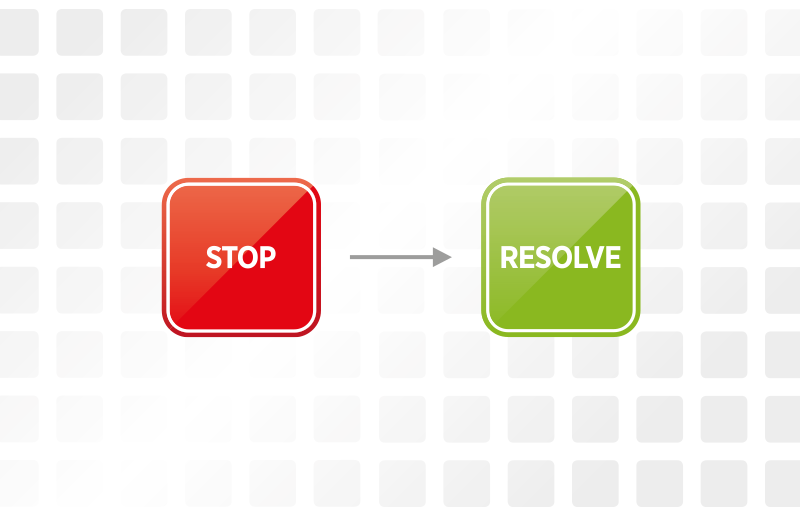 Stop-solve card